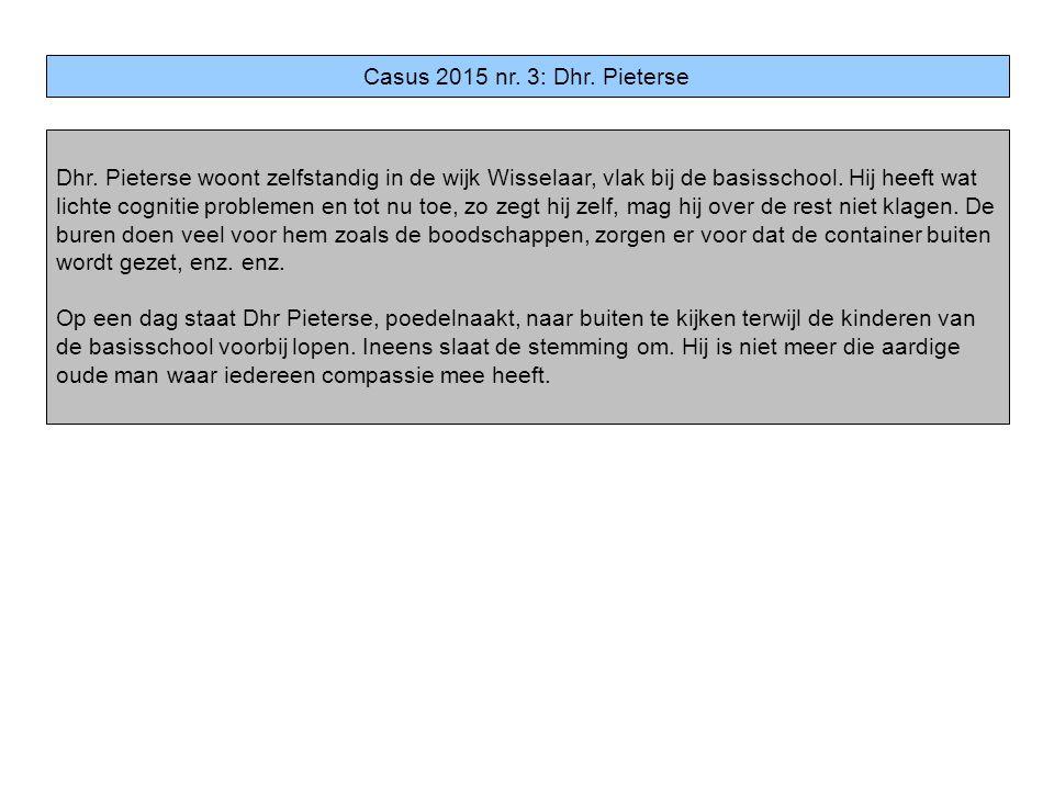 Casus 2015 nr. 3: Dhr. Pieterse