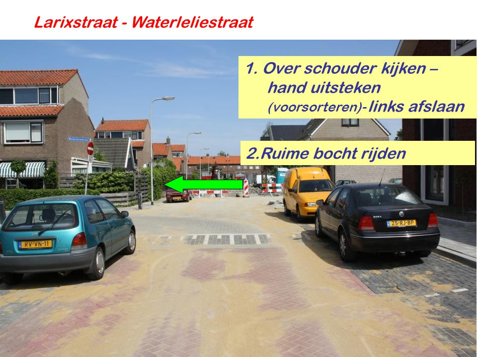 Larixstraat - Waterleliestraat