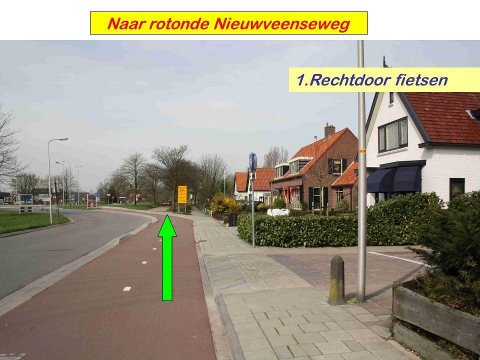 Naar rotonde Nieuwveenseweg