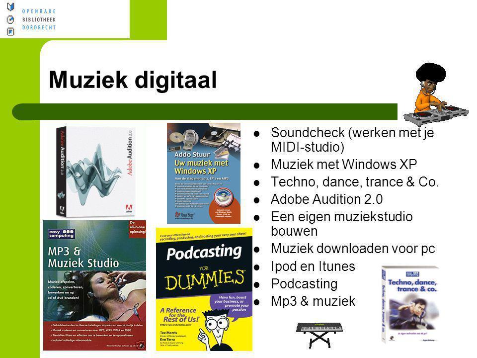 Muziek digitaal Soundcheck (werken met je MIDI-studio)