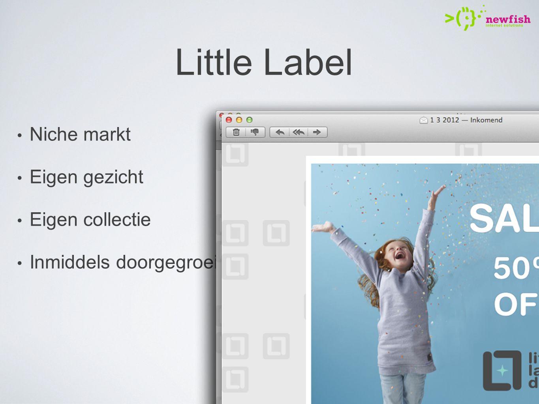 Little Label Niche markt Eigen gezicht Eigen collectie