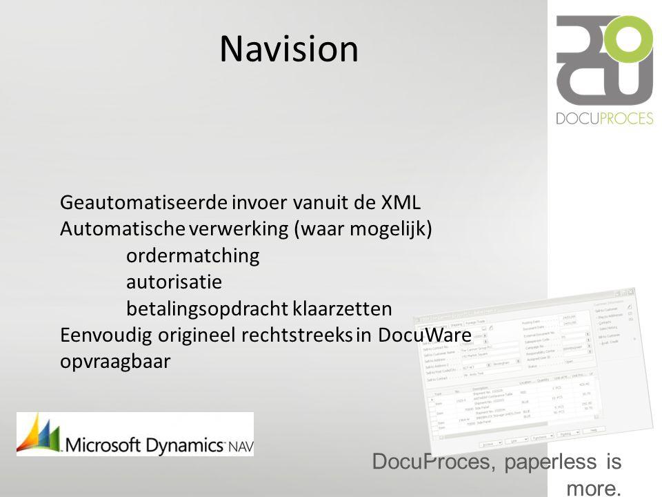 Navision Geautomatiseerde invoer vanuit de XML