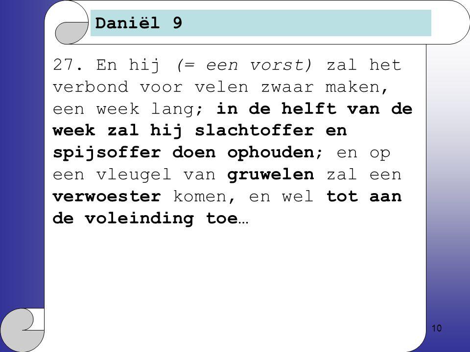 Daniël 9