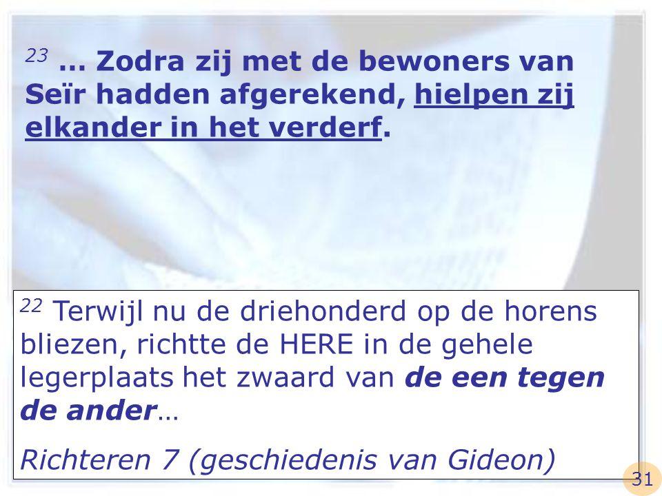 Richteren 7 (geschiedenis van Gideon)