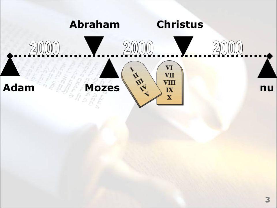 Abraham Christus 2000 2000 2000 Adam Mozes nu 3