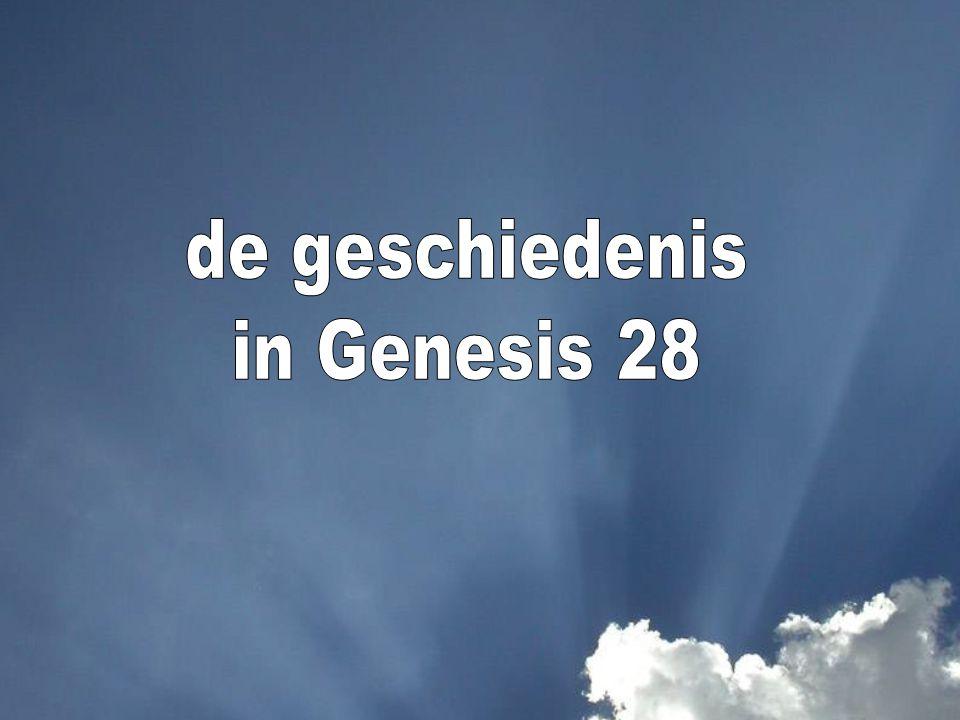 de geschiedenis in Genesis 28