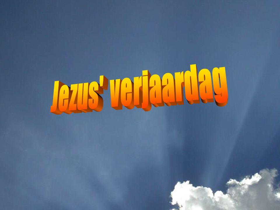 Jezus verjaardag