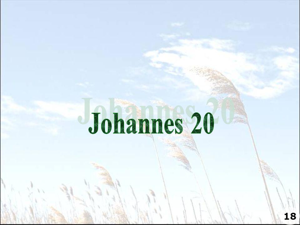 Johannes 20 18