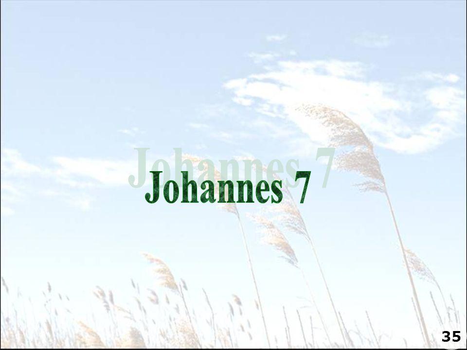 Johannes 7 35