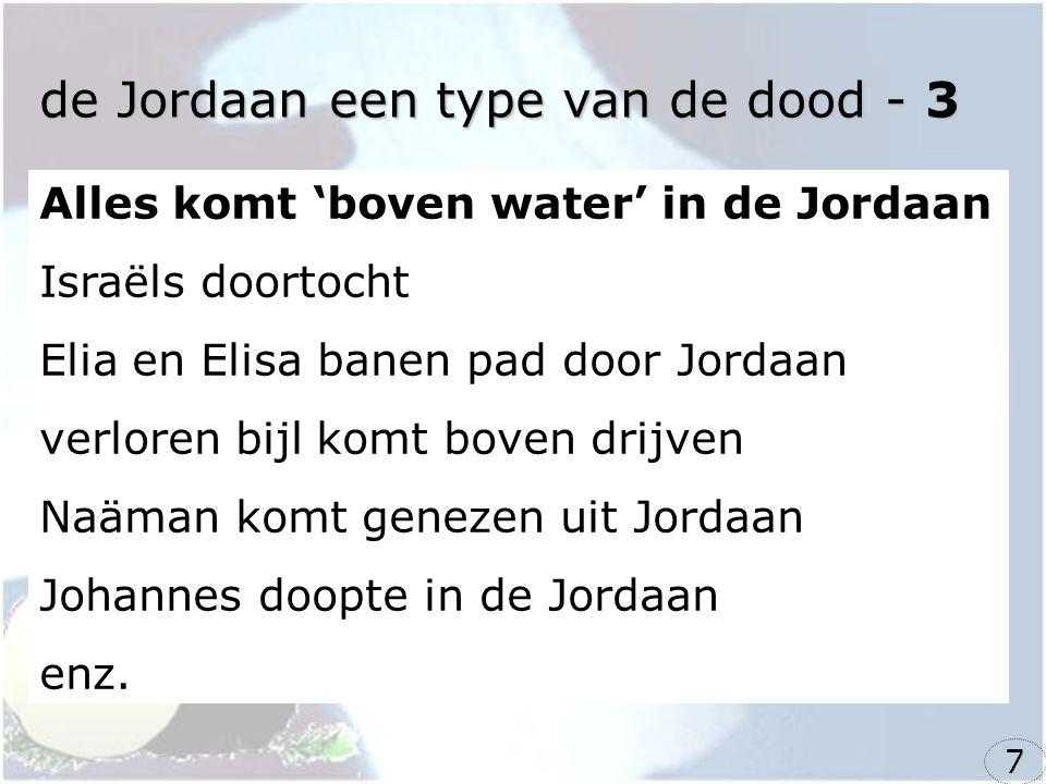 de Jordaan een type van de dood - 3