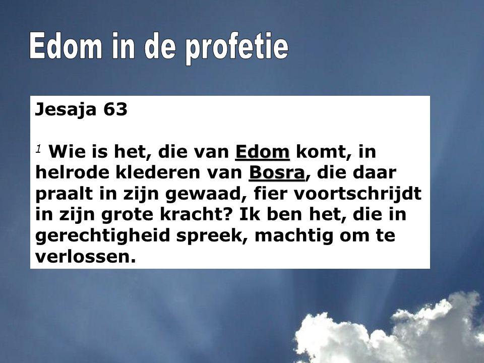 Edom in de profetie Jesaja 63