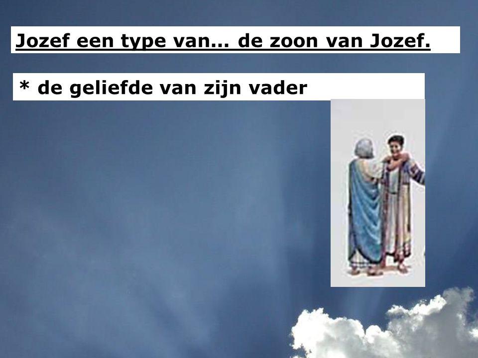 Jozef een type van... de zoon van Jozef.
