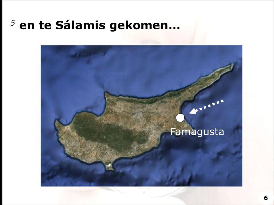 5 en te Sálamis gekomen… Famagusta 6