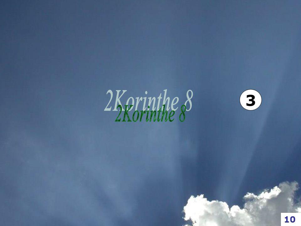 3 2Korinthe 8 10