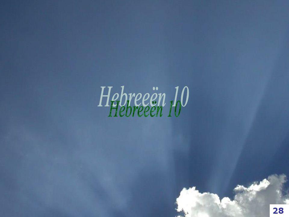 Hebreeën 10 28