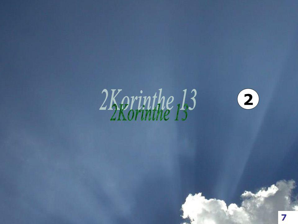 2 2Korinthe 13 7