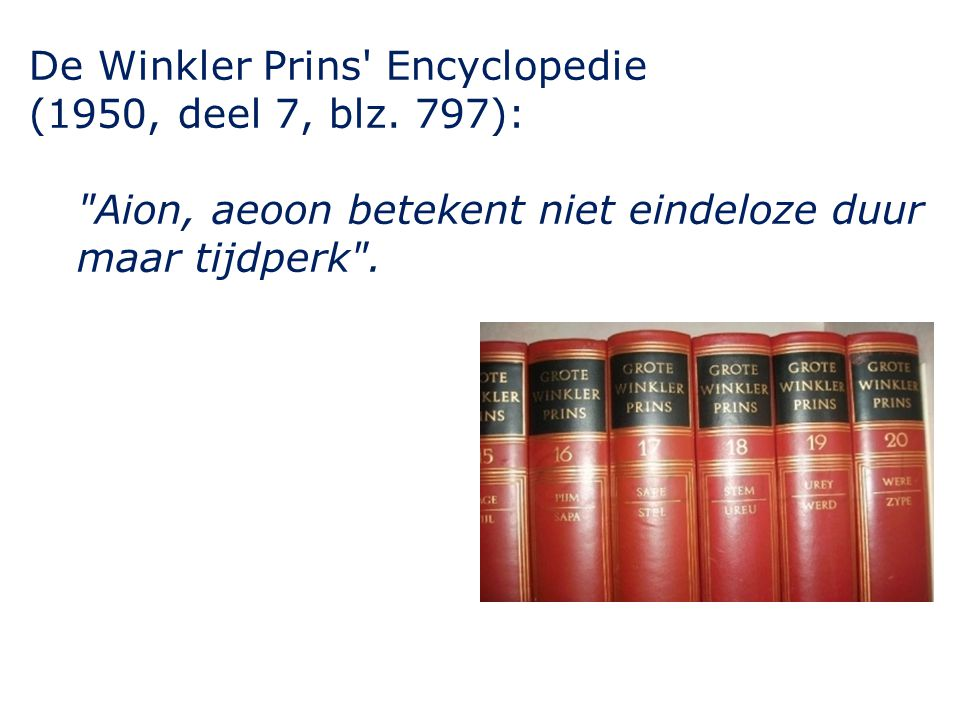 De Winkler Prins Encyclopedie