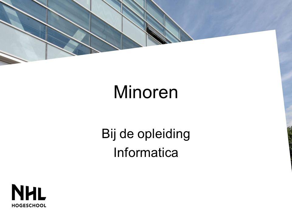 Bij de opleiding Informatica