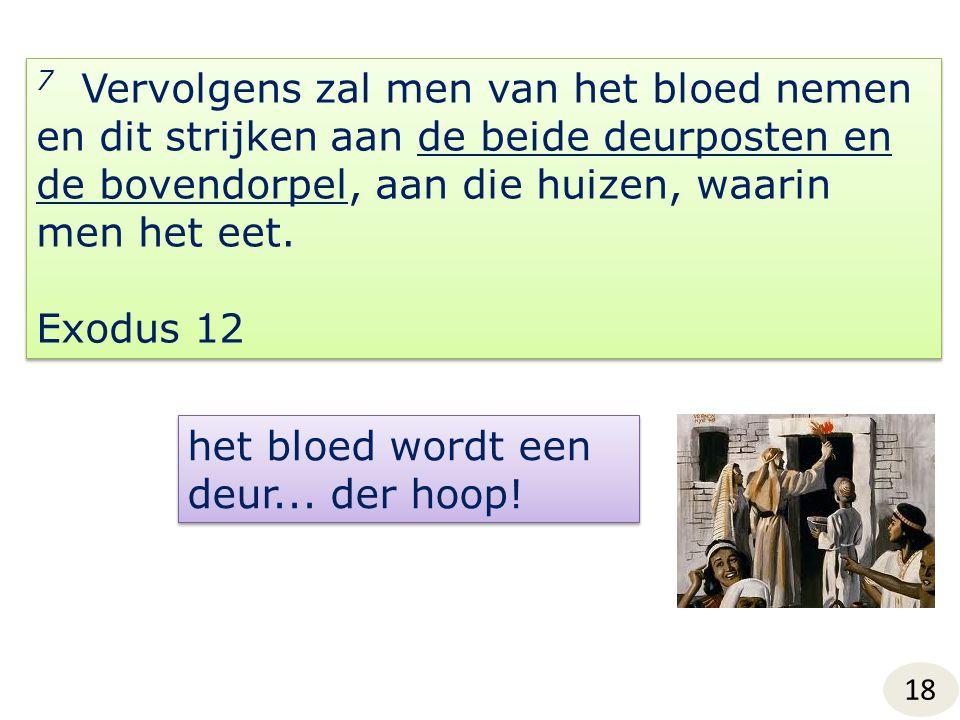 het bloed wordt een deur... der hoop!