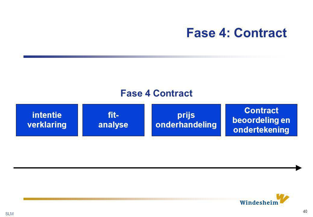 Contract beoordeling en ondertekening