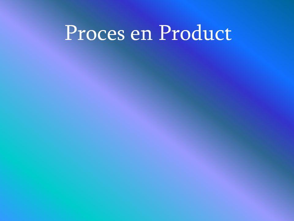 Proces en Product