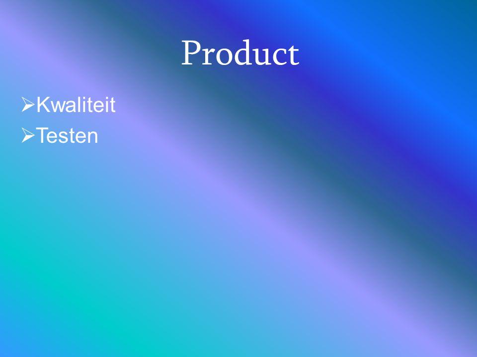 Product Kwaliteit Testen