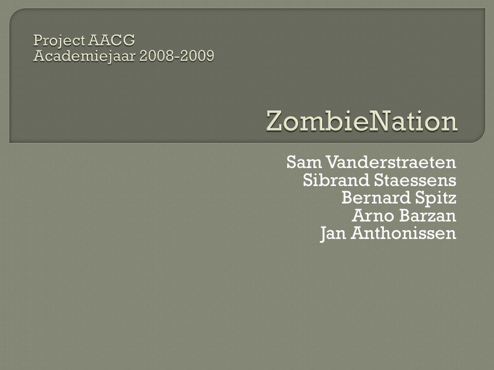 ZombieNation Sam Vanderstraeten Sibrand Staessens Bernard Spitz