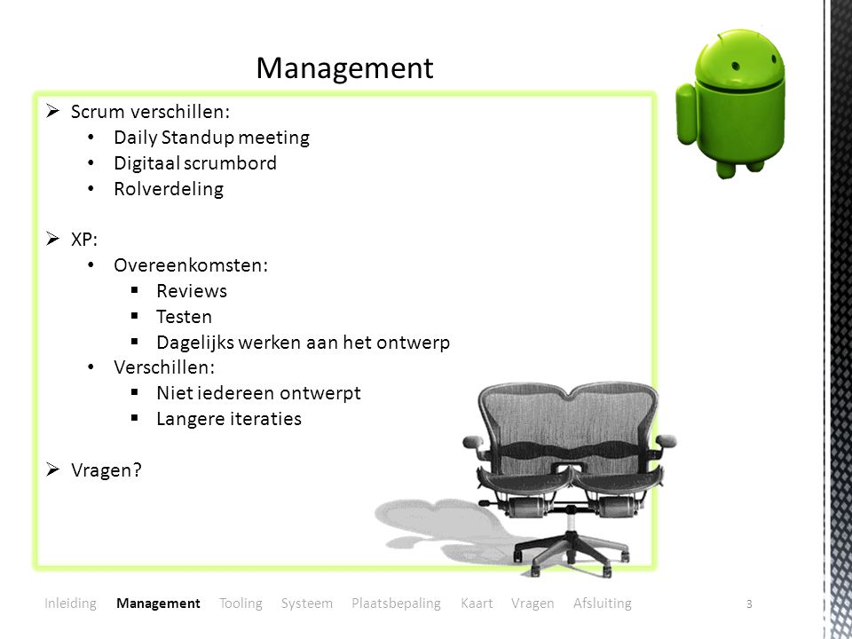 Management Scrum verschillen: Daily Standup meeting Digitaal scrumbord