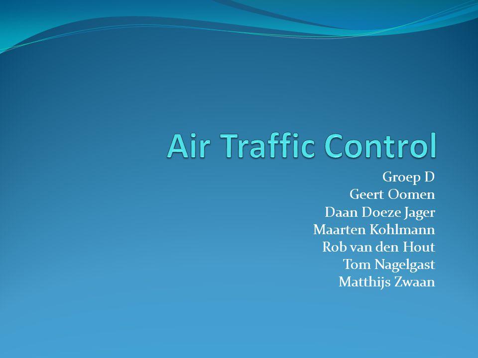 Air Traffic Control Groep D Geert Oomen Daan Doeze Jager