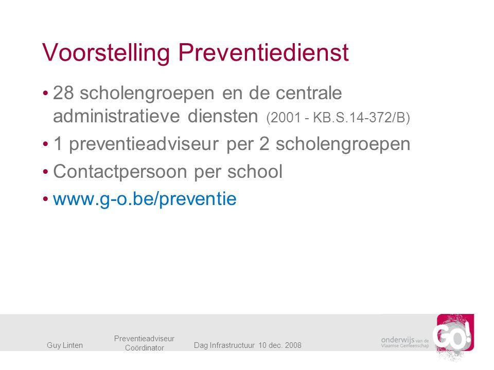 Voorstelling Preventiedienst