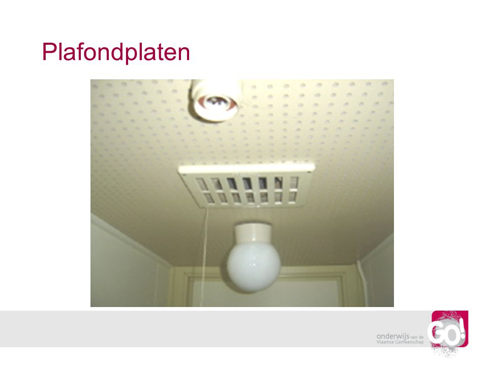 Plafondplaten