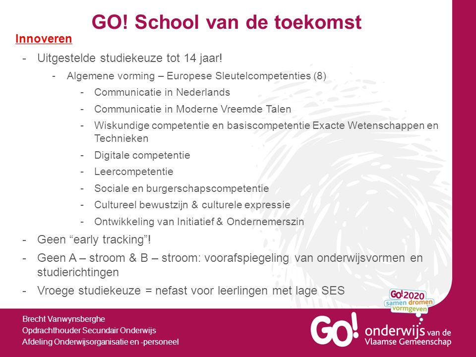 GO! School van de toekomst