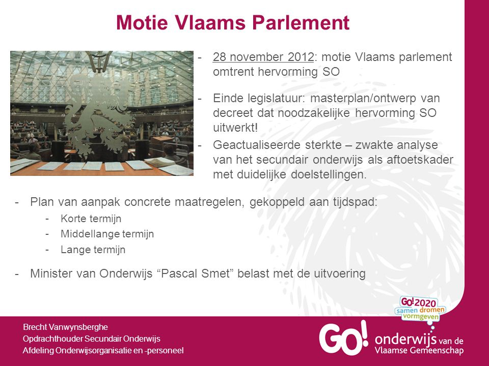 Motie Vlaams Parlement