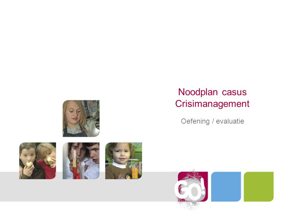Noodplan casus Crisimanagement