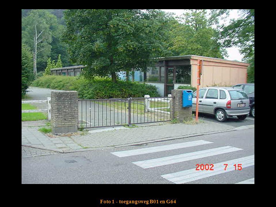 Foto 1 - toegangsweg B01 en G64