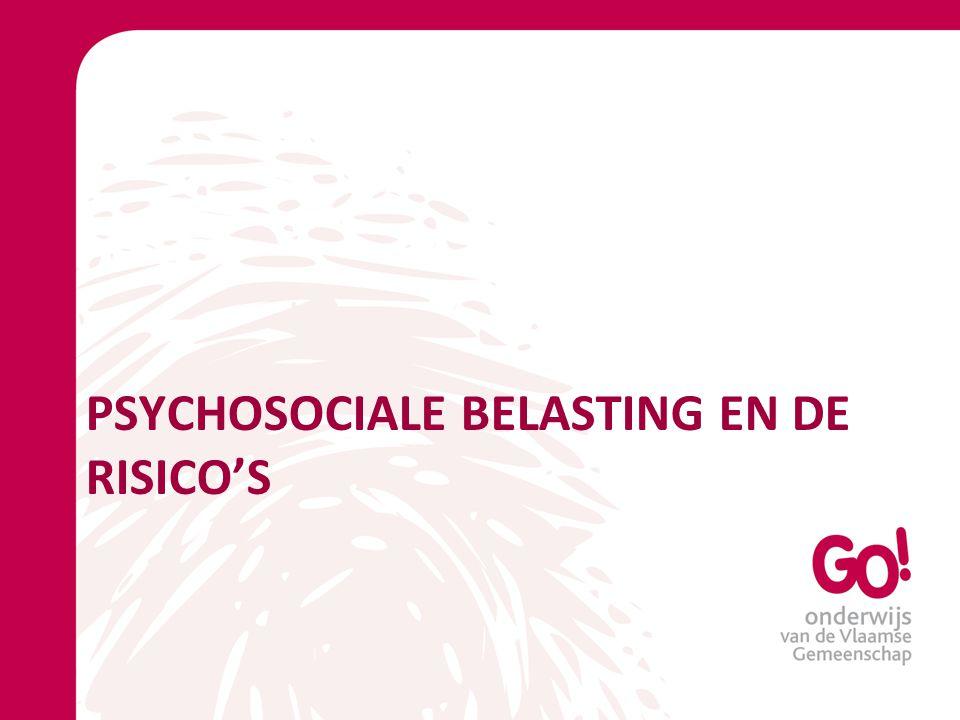 Psychosociale belasting en de risico's