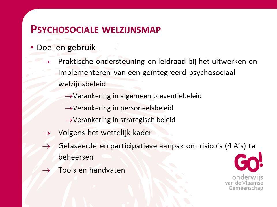 Psychosociale welzijnsmap