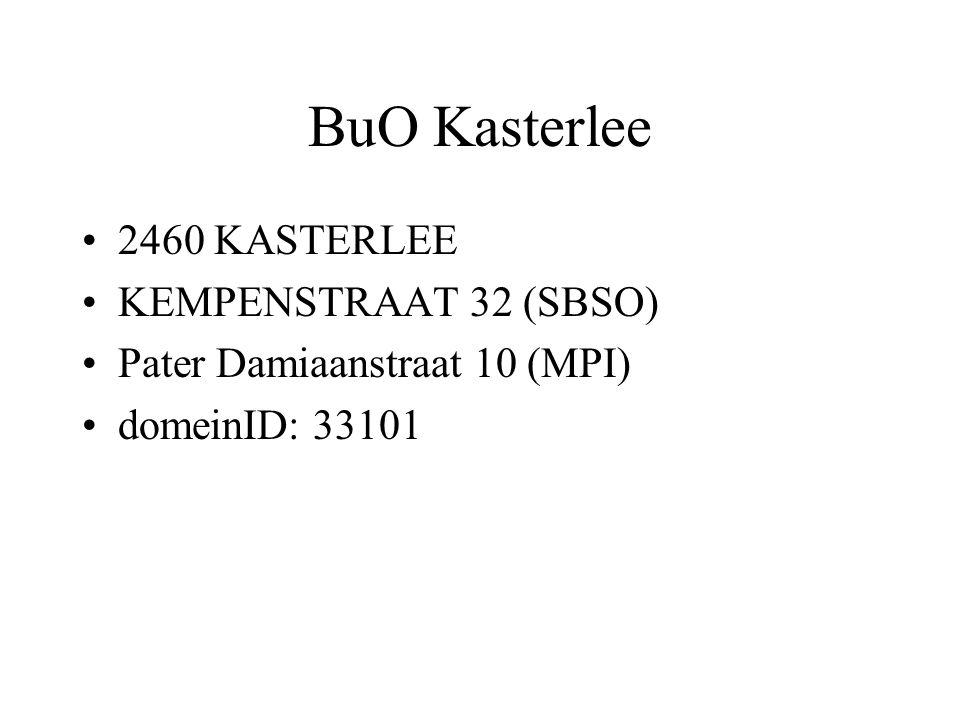 BuO Kasterlee 2460 KASTERLEE KEMPENSTRAAT 32 (SBSO)