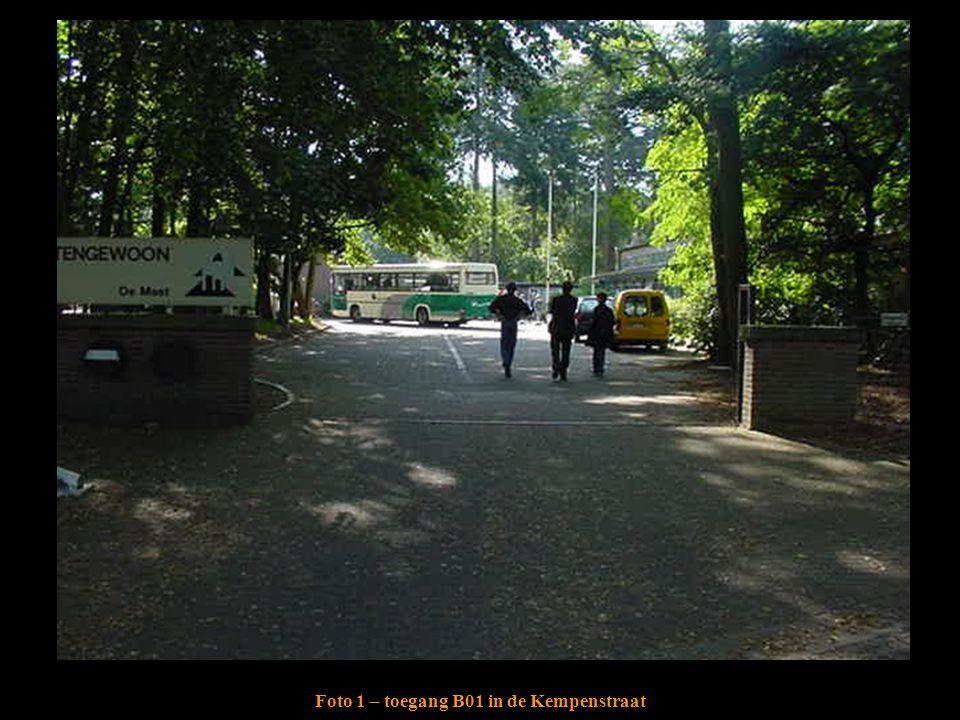 Foto 1 – toegang B01 in de Kempenstraat