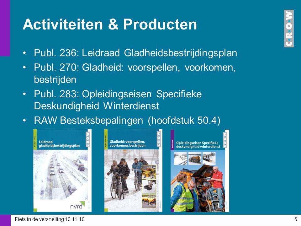 Activiteiten & Producten