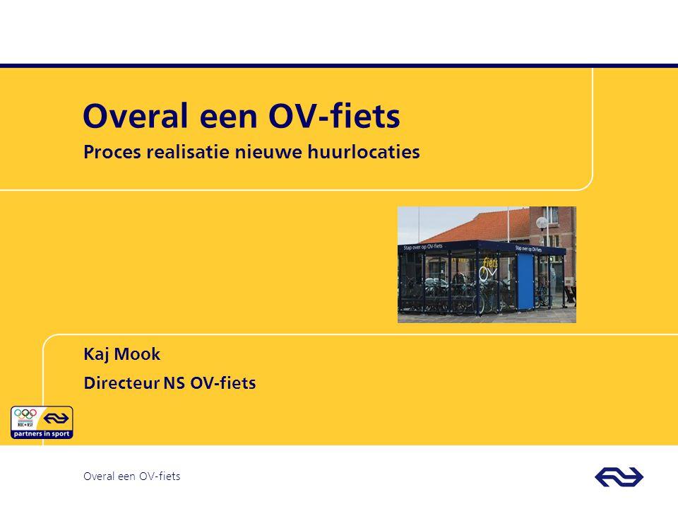 OV-fiets OVfiets Proces realisatie nieuwe huurlocaties