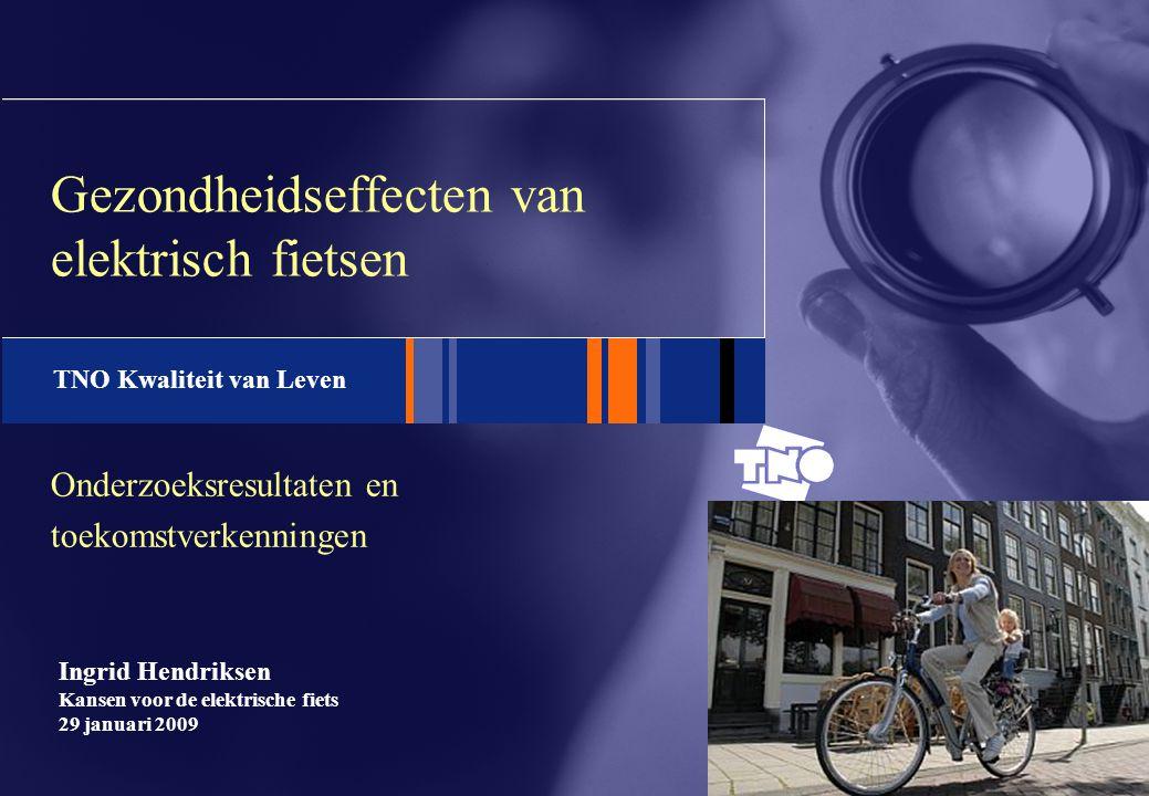 Gezondheidseffecten van elektrisch fietsen