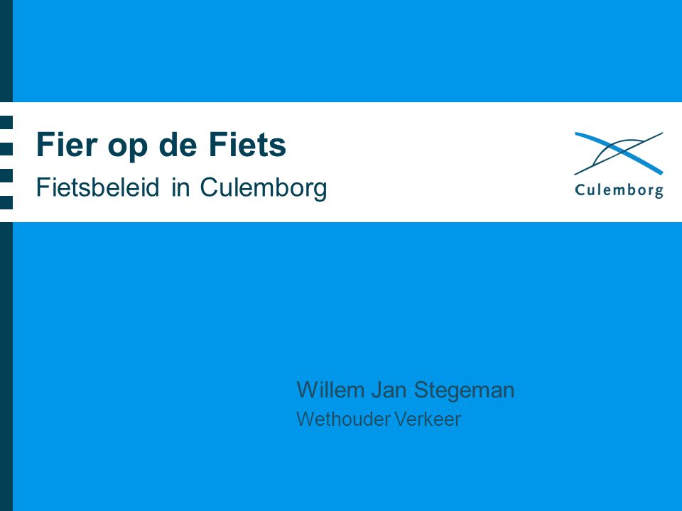 Fietsbeleid in Culemborg