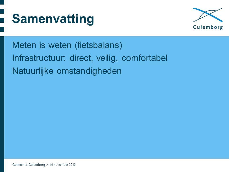 Samenvatting Meten is weten (fietsbalans)