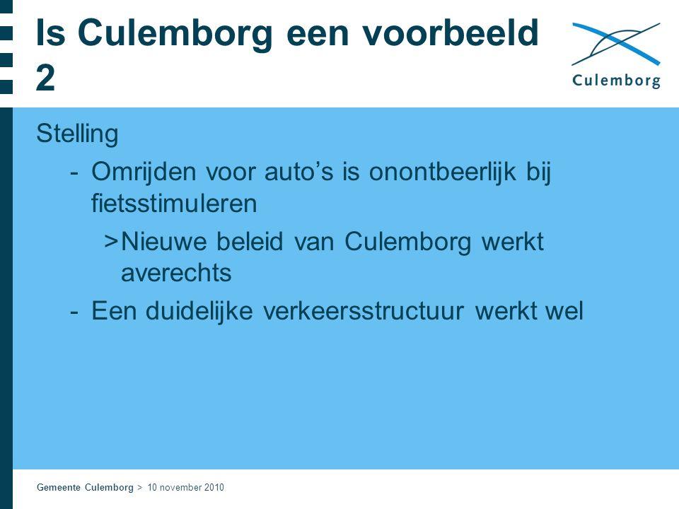 Is Culemborg een voorbeeld 2