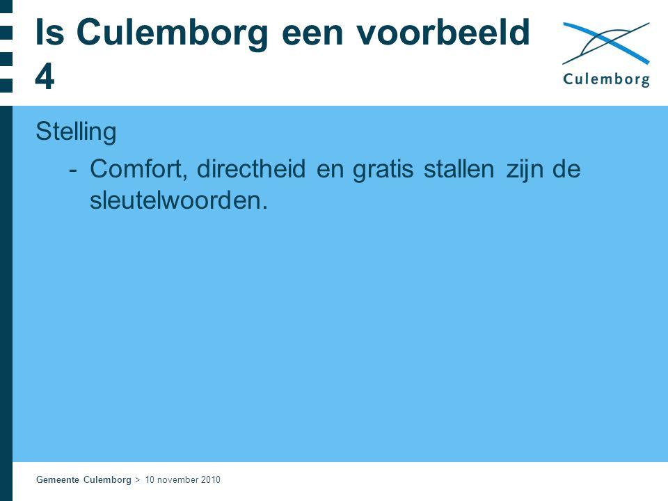 Is Culemborg een voorbeeld 4