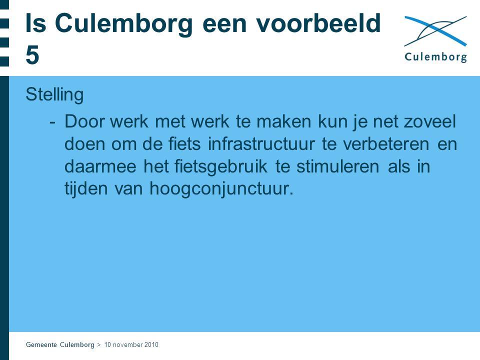 Is Culemborg een voorbeeld 5