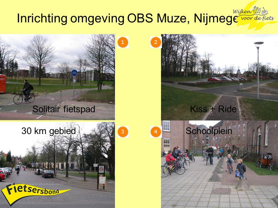 Inrichting omgeving OBS Muze, Nijmegen