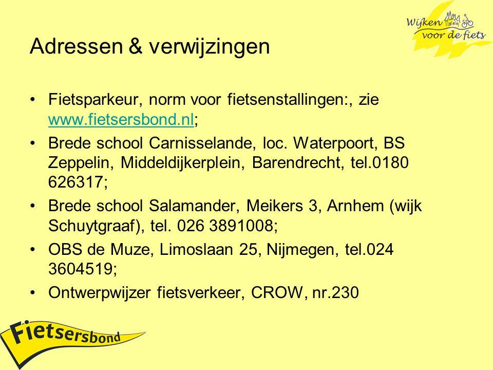 Adressen & verwijzingen