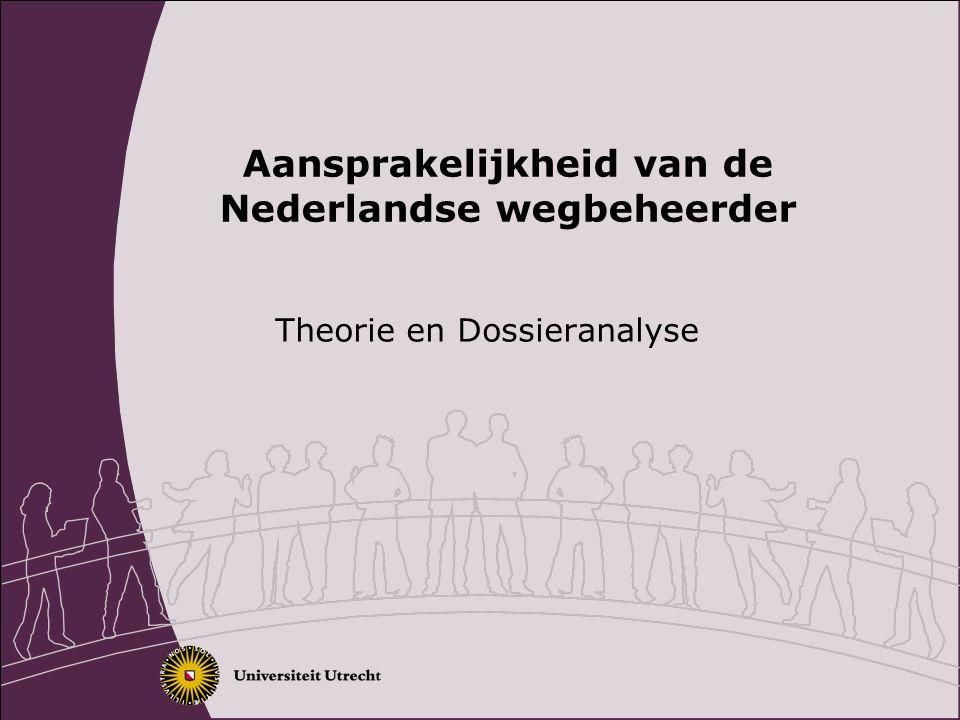 Aansprakelijkheid van de Nederlandse wegbeheerder